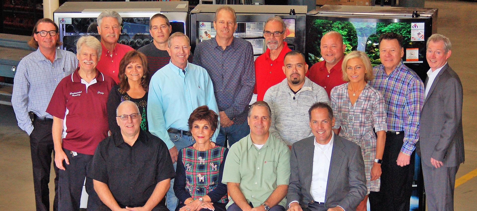 Continental Vending team photo